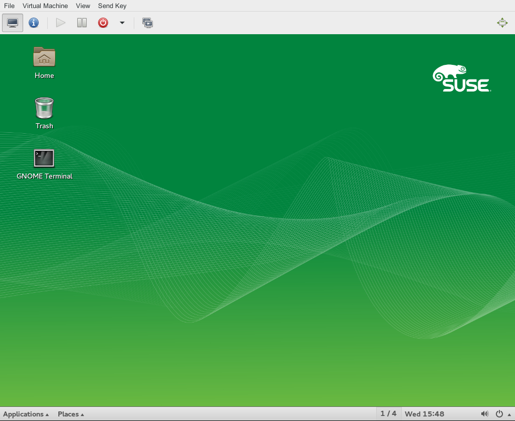 Virtualization Guide Opensuse Leap 421 Parts Of A Computer Diagram For Kids Kvm 4 Connections Before Attempting To Connect The Console Virt Viewer Is Not Installed By Default And Available After Installing Package