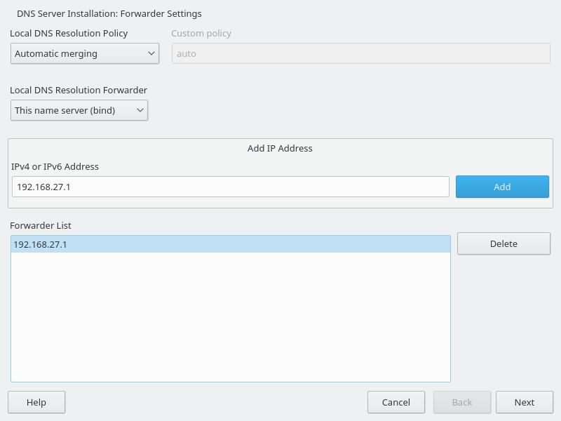 How To Setup Dns Server On Suse Linux Setup DNS Server On