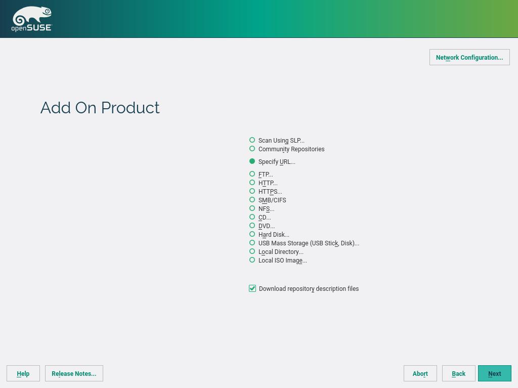 Installation Quick Start | Start-Up | openSUSE Leap 42 2