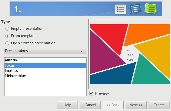LibreOffice Impress, Base, Draw, and Math | GNOME User Guide
